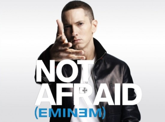 eminem not afraid recovery