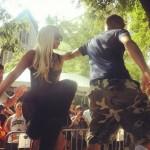 Kendrick Lamar и Lady Gaga на Pitchfork Music Festival