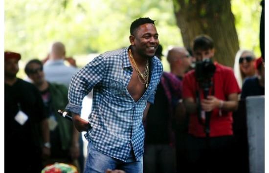 Живое выступление Kendrick Lamar наPitchfork Music Festival 2012