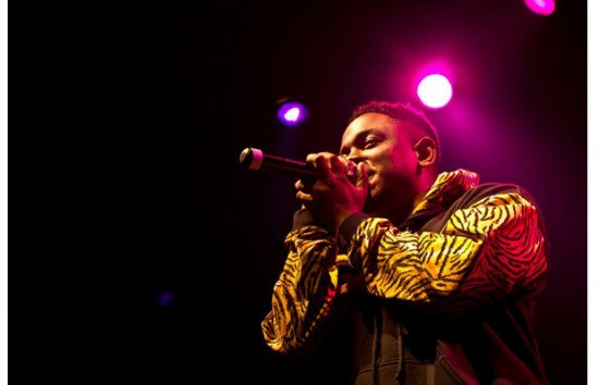 Kendrick Lamar warehouse live 21 января 2012
