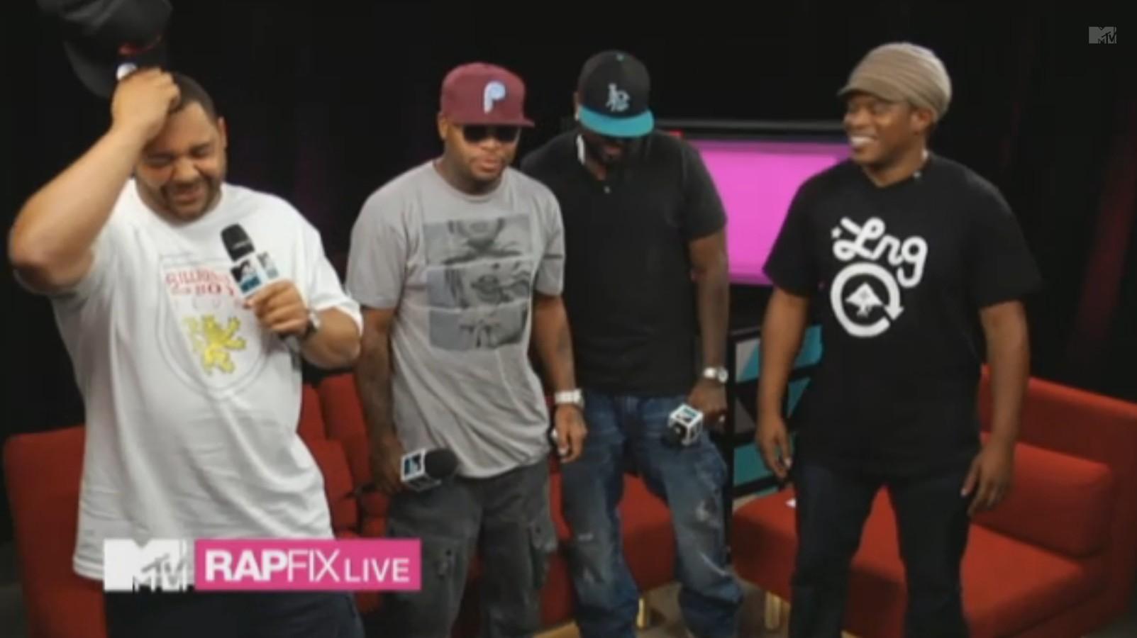 Slaughterhouse празднуют выход «Our House» на «RapFix Live».