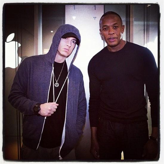 Eminem и Dr. Dre Япония Токио 2012.08.17