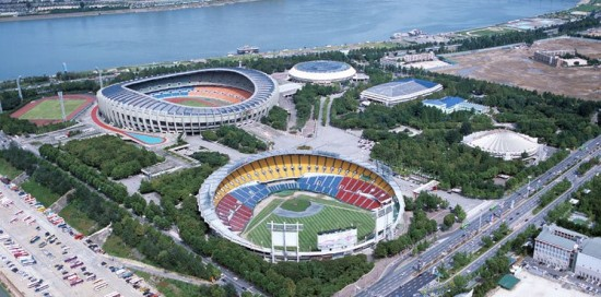 Jamsil Sports Complex, Сеул Eminem Recovery Japan Tour 2012