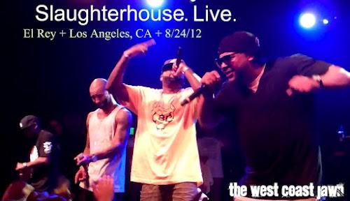 Выступление группы Slaughterhouse 24 августа в Лос-Анджелесе
