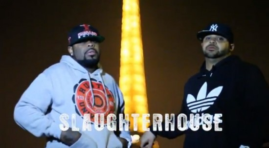 Joell Ortiz & Crooked I — «Freestyle In Paris»