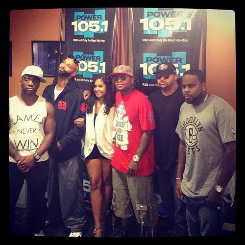 Группа Slaughterhouse посетила шоу The Breakfast Club на радиостанции Power 105.1 FM