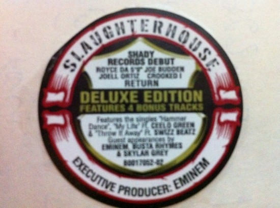 Полиграфия с альбома группы Slaughterhouse - Welcome To Our House