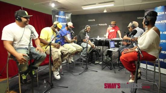 Выступление группы Slaughterhouse на передаче Sway In The Morning