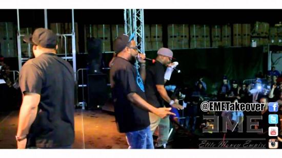 Группа Slaughterhouse выступила в Бруклине