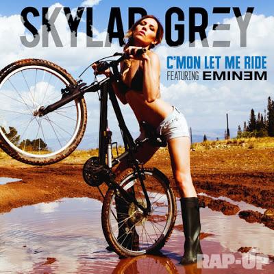 Обложка трека Skylar Grey и Eminem — «C'mon Let Me Ride»