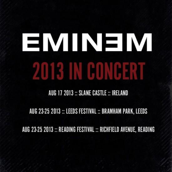 Eminem 2013 in Concert
