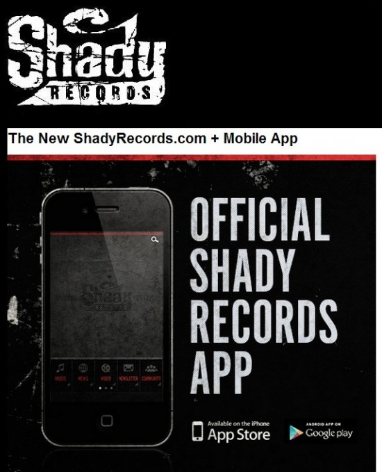 The New ShadyRecords Mobile App