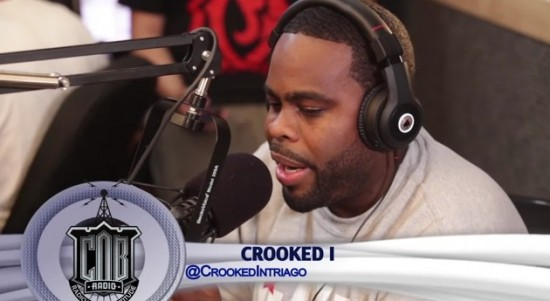 Crooked I PSA Freestyle on C.O.B. Radio - Jay-Z PSA