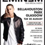 Eminem Glasgow Summer Session 2013