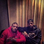 Mr. Porter and Big Sean in studio 26.04.2013