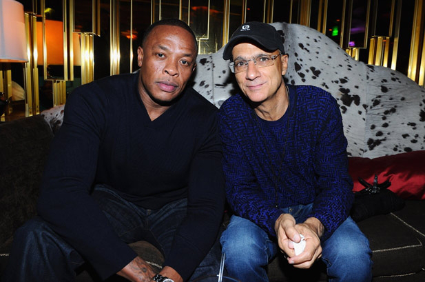 Dr. Dre and Jimmy Iovine iHeartRadio Music Festival 2011