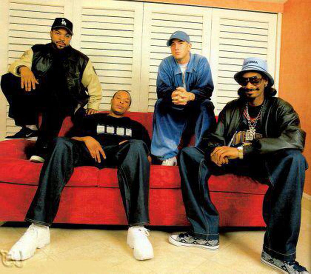 Ice Cube, Eminem, Dr. Dre