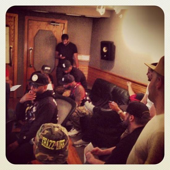 19 июня группы Slaughterhouse устроила закрытое прослушивание нового музыкального материала