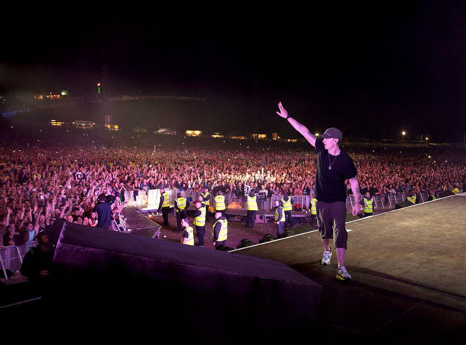 Eminem Live at Slane Castle Dublin