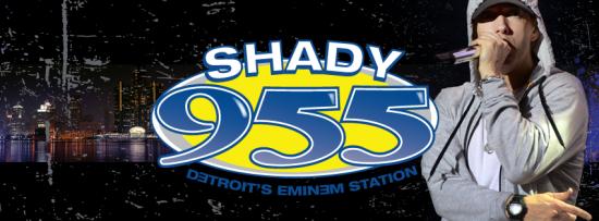 Shady 955 Detroit Eminem Station