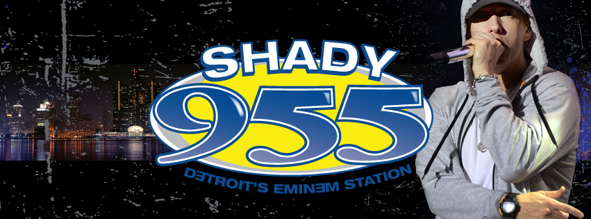 Shady 955 Detroit Eminem Station
