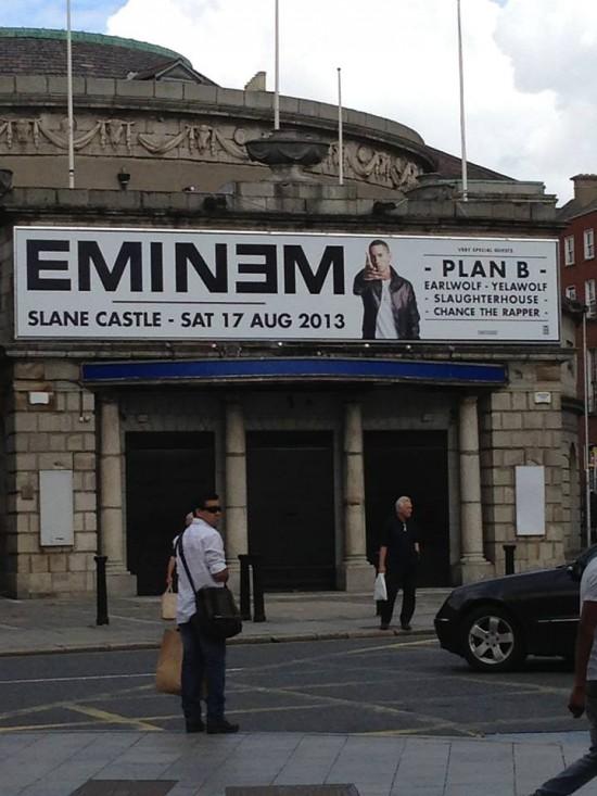 2013.08.17 - Eminem live at Slane Castle