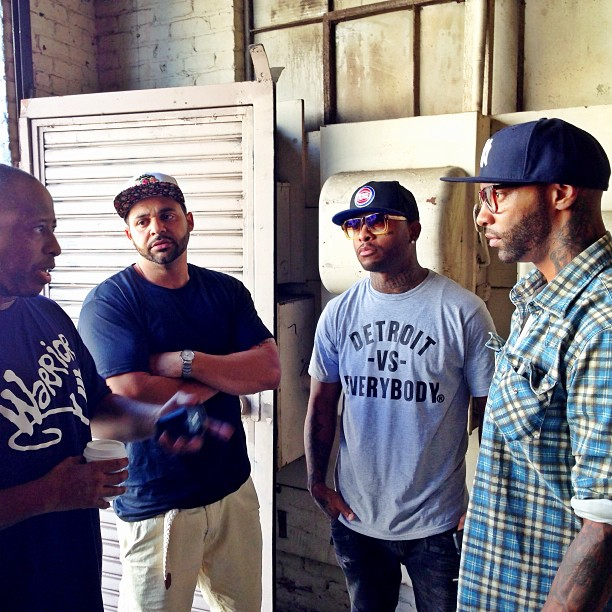 2013.09.07 - Slaughterhouse Prepares For Cypher At 2013 BET Hip Hop Awards