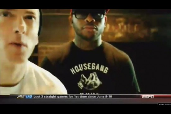 2013.09.08 - Eminem - Berzerk Music Video (Teaser) Prewiew on ESPN
