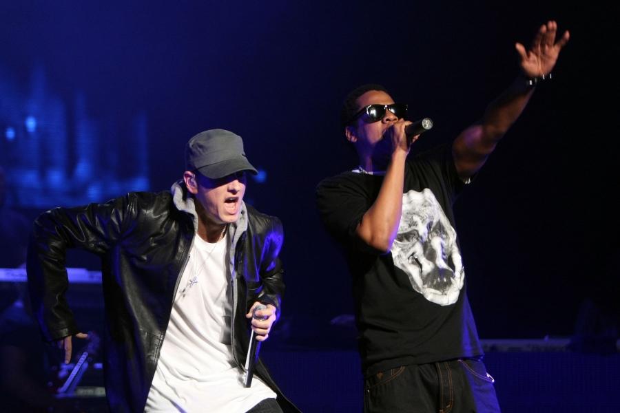 Eminem and Jay-Z 2010