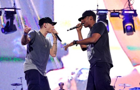 Eminem and Jay-Z 2010