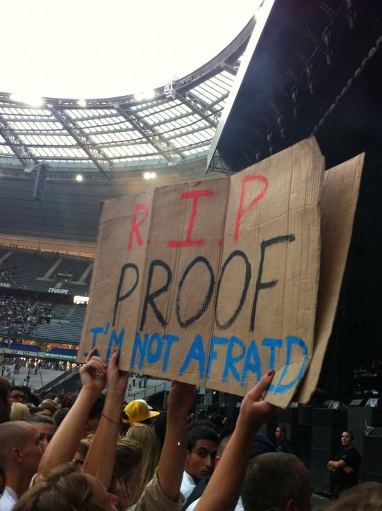 Eminem live at Stade de France 2013