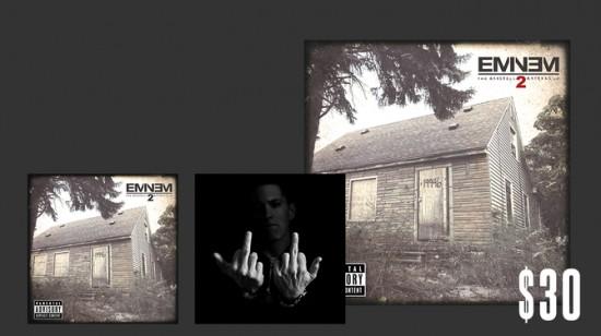 2013.10.25 Sticker Pack and Deluxe CD MMLP2 Eminem
