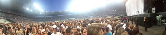 Eminem Pano @ Stade de France, Paris (22.08.2013)