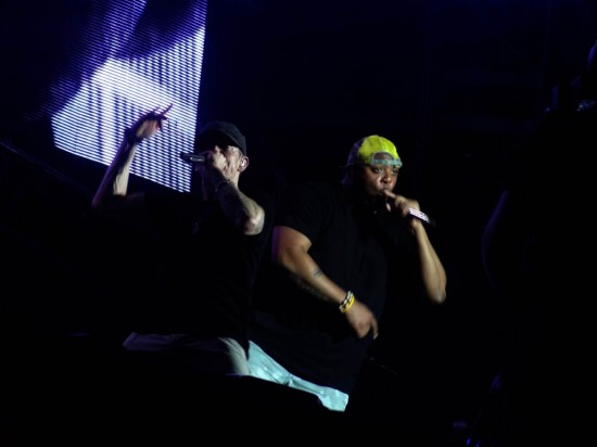 Eminem and Mr. Porter @ Stade de France 2013 20