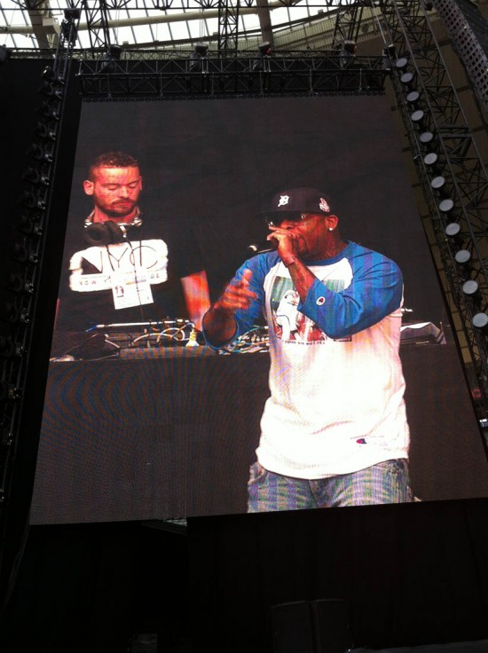 "Royce Da 5'9"" @ Stade de France, Paris (22.08.2013)"