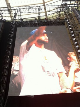 Joe Budden @ Stade de France, Paris (22.08.2013)