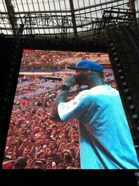 Joe Budden @ Stade de France, Paris (22.08.2013)