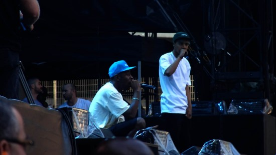 Tyler The Creator, Earl Sweatshirt @ Stade de France 2013 1