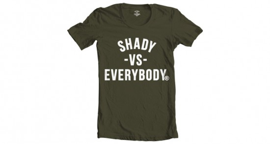 08 Shady Vs. Everybody (Army Green - Limited Quantities)
