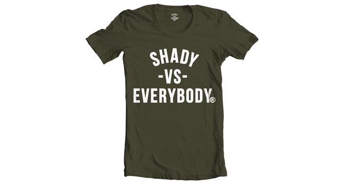 01 Burn Rubber x Shady Records - Men's Tee Shirt (Black)