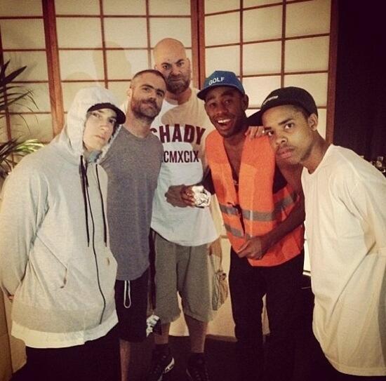 2013.08 - Eminem, The Alchemist, Paul Rosenberg, Tyler