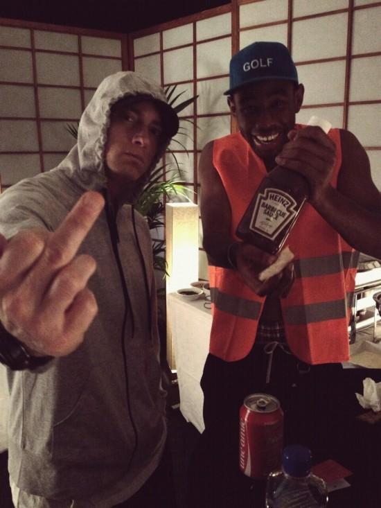 2013.08 - Eminem and Tyler - август 2013 (европейский тур)