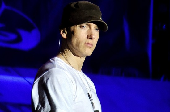 2013.08.24 - Eminem performs on stage on Day 2 of Reading Festival 2013 at Richfield Avenue on August 24, 2013 in Reading, England