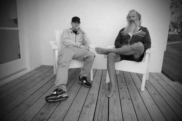 2013.11.05 - Detroit Free Press Eminem and Rick Rubin MMLP2 Интервью