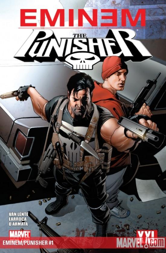 2013.11.07 - Eminem and Punisher Marvel Comics