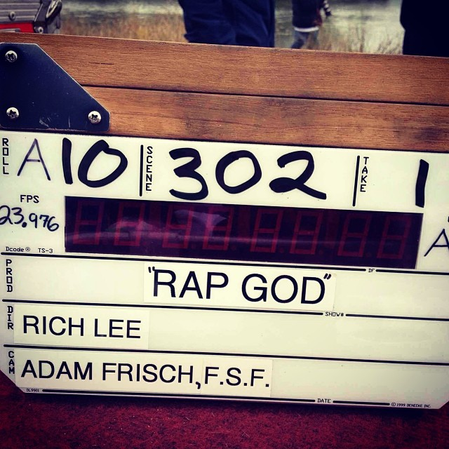 2013.11.1 - Eminem - Rap God Making