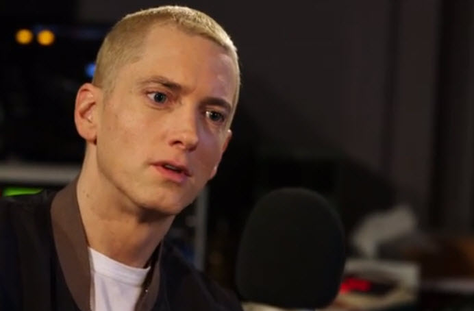 2013.11.19 - Eminem. Zane Lowe. Part 2 2.