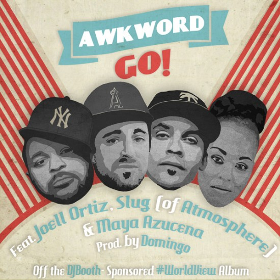 2013.11.19 - Joell Ortiz AWKWORD, Joell Ortiz, Slug (of Atmosphere), and Maya Azucena Are Ready to Go