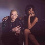 2013.11.21 - Eminem and Rihanna making The Monster