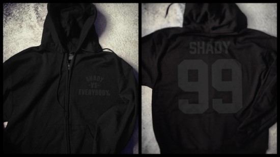 2013.11.29 - Shady Vs. Everybody Zip-Up Champion Hoodie (Black) Чёрная пятница 2013